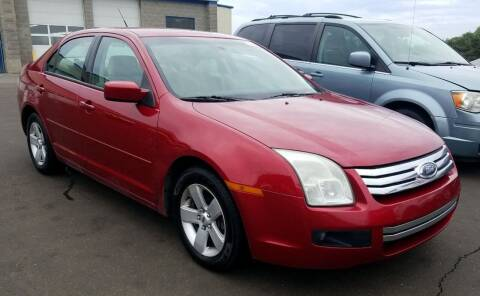 2008 Ford Fusion for sale at Angelo's Auto Sales in Lowellville OH