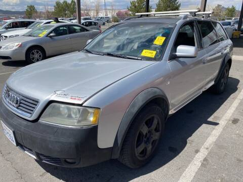 2002 Audi Allroad for sale at Sand Mountain Motors in Fallon NV