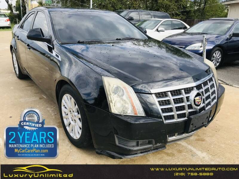 2013 Cadillac CTS for sale at LUXURY UNLIMITED AUTO SALES in San Antonio TX