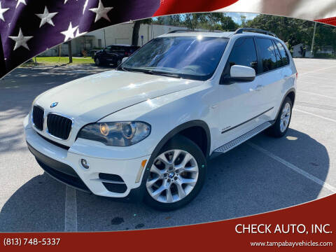 2011 BMW X5 for sale at CHECK AUTO, INC. in Tampa FL