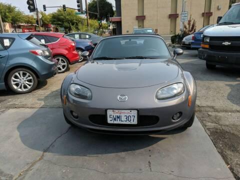 2006 Mazda MX-5 Miata for sale at Auto City in Redwood City CA