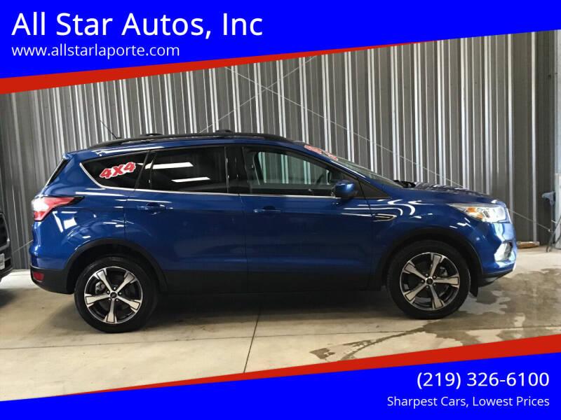 2018 Ford Escape for sale at All Star Autos, Inc in La Porte IN