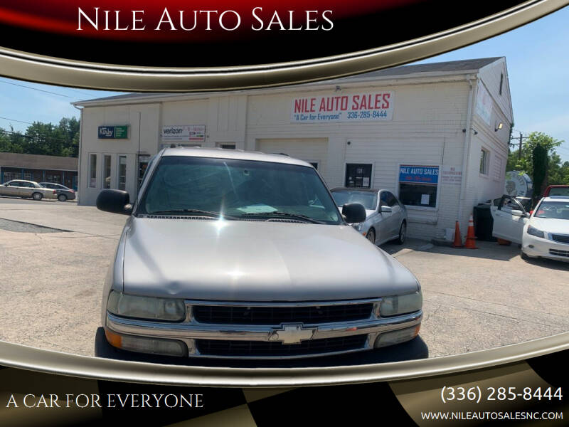 2004 Chevrolet Tahoe for sale at Nile Auto Sales in Greensboro NC