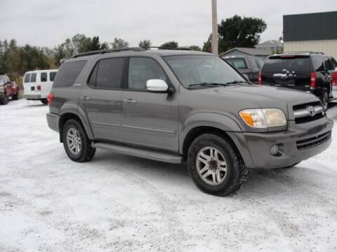 2007 Toyota Sequoia for sale at Frieling Auto Sales in Manhattan KS