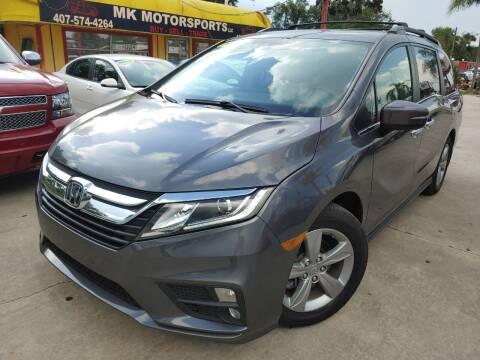 2019 Honda Odyssey for sale at MK Motorsports LLC. in Orlando FL