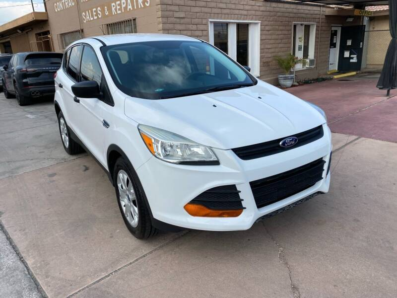 2016 Ford Escape for sale at CONTRACT AUTOMOTIVE in Las Vegas NV