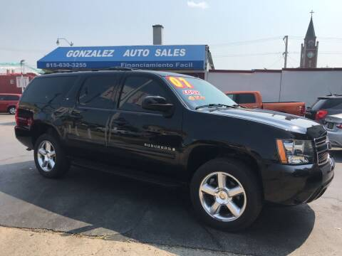 2007 Chevrolet Suburban for sale at Gonzalez Auto Sales in Joliet IL