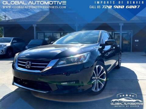 2014 Honda Accord for sale at Global Automotive Imports in Denver CO