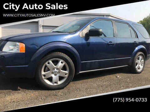 2005 Ford Freestyle for sale at City Auto Sales in Sparks NV