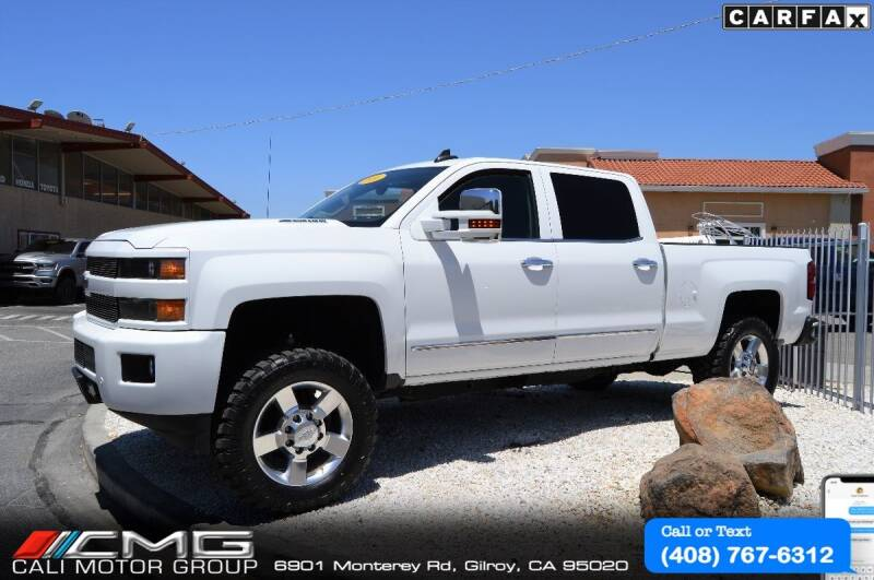 2016 Chevrolet Silverado 2500HD for sale at Cali Motor Group in Gilroy CA