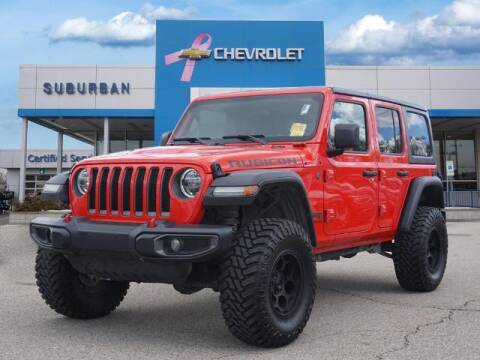 2018 Jeep Wrangler Unlimited for sale at Suburban Chevrolet of Ann Arbor in Ann Arbor MI