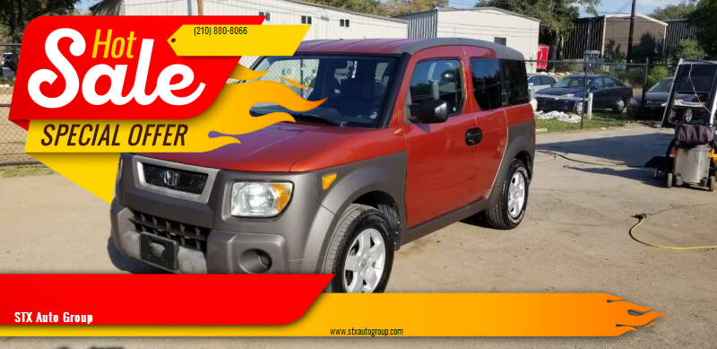2004 Honda Element for sale at STX Auto Group in San Antonio TX