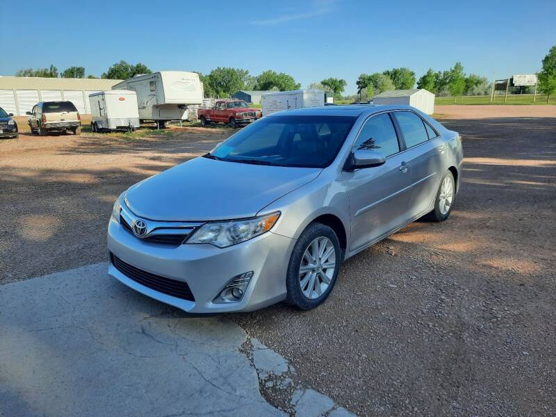 2013 Toyota Camry for sale at Best Car Sales in Rapid City SD