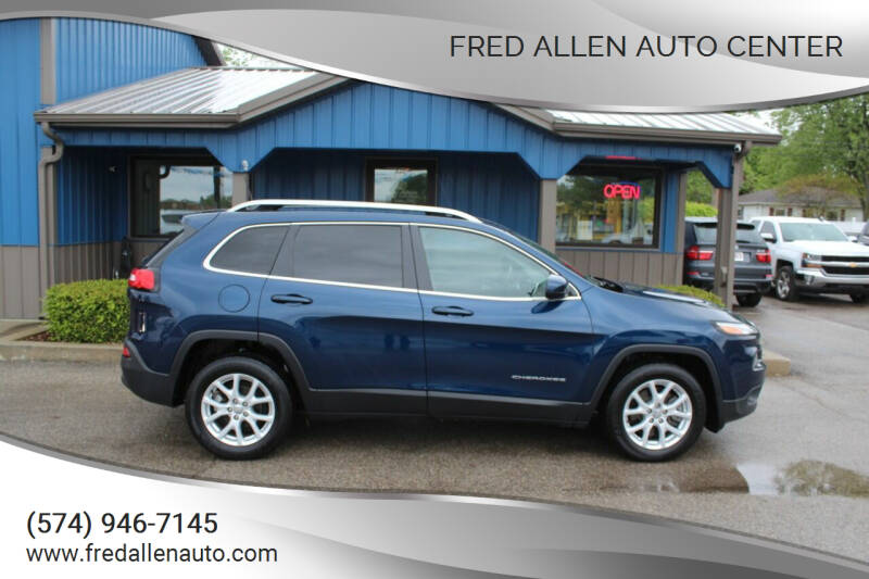 2018 Jeep Cherokee for sale at Fred Allen Auto Center in Winamac IN