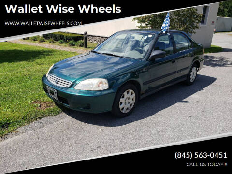 2000 Honda Civic for sale at Wallet Wise Wheels in Montgomery NY