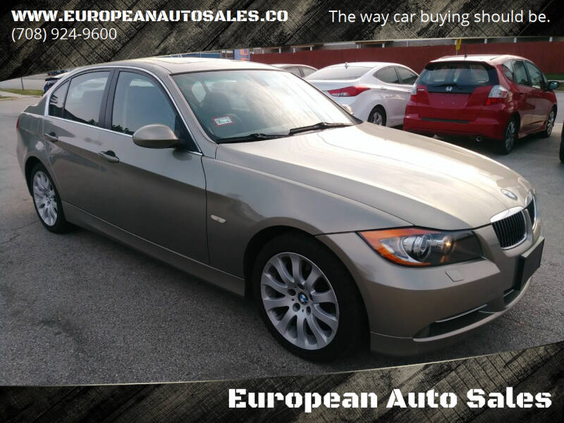2007 BMW 3 Series for sale at European Auto Sales in Bridgeview IL