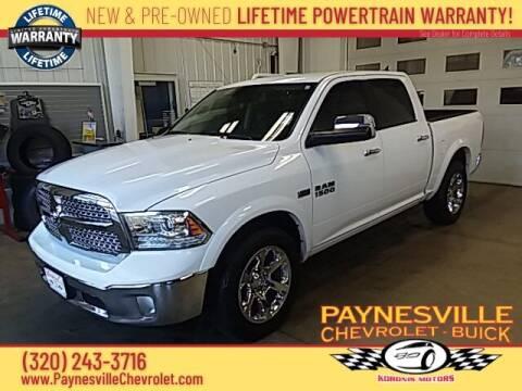 2016 RAM Ram Pickup 1500 for sale at Paynesville Chevrolet - Buick in Paynesville MN