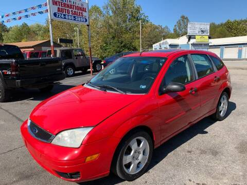 2007 Ford Focus for sale at INTERNATIONAL AUTO SALES LLC in Latrobe PA