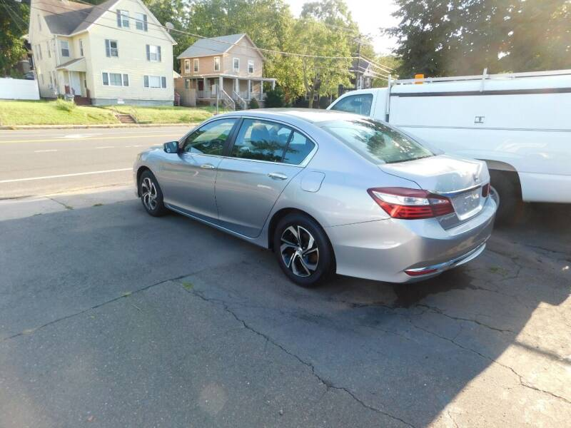 2016 Honda Accord for sale at CAR CORNER RETAIL SALES in Manchester CT