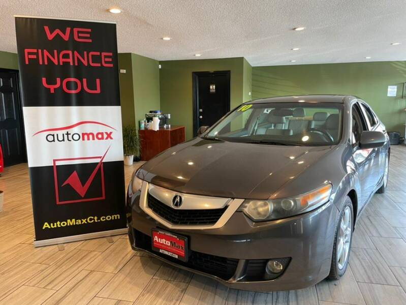 2010 Acura TSX for sale at AutoMax in West Hartford CT