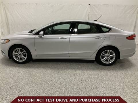2018 Ford Fusion for sale at Brothers Auto Sales in Sioux Falls SD