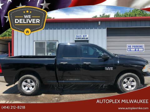 2013 RAM Ram Pickup 1500 for sale at Autoplexmkewi in Milwaukee WI