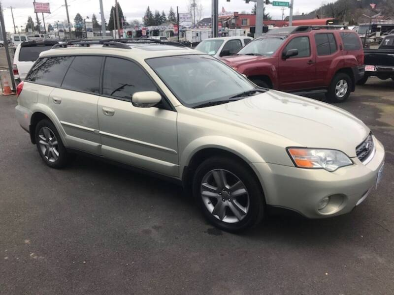 2006 Subaru Outback for sale at Chuck Wise Motors in Portland OR