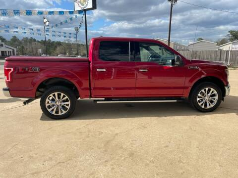 2017 Ford F-150 for sale at Lumberton Auto World LLC in Lumberton TX