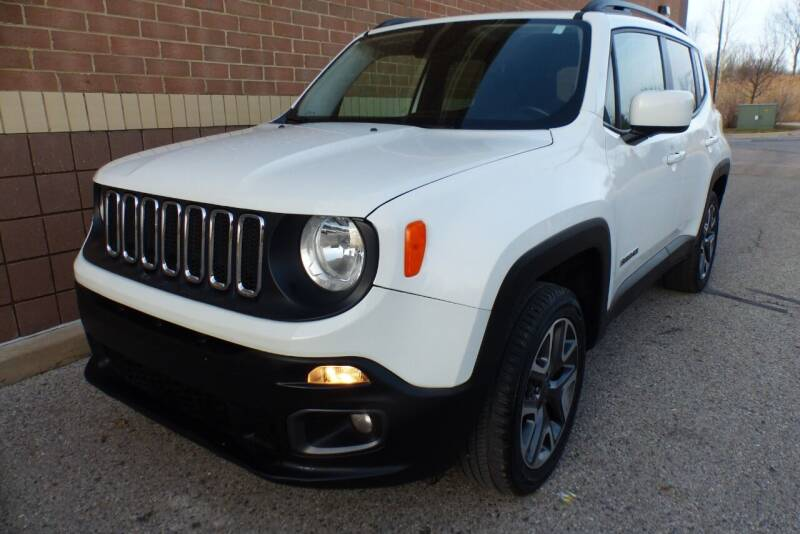 2017 Jeep Renegade for sale at Macomb Automotive Group in New Haven MI
