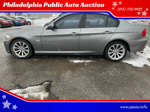 2011 BMW 3 Series for sale at Philadelphia Public Auto Auction in Philadelphia PA
