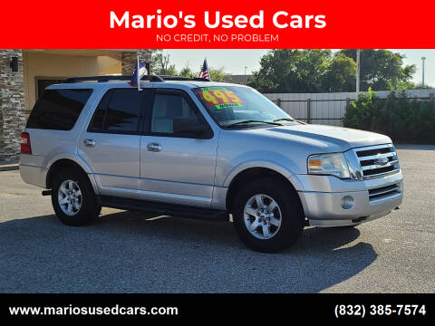 2010 Ford Expedition for sale at Mario's Used Cars - Pasadena Location in Pasadena TX