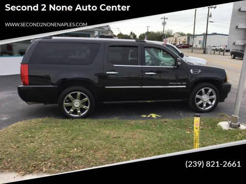2011 Cadillac Escalade ESV for sale at Second 2 None Auto Center in Naples FL