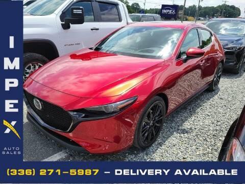 2020 Mazda Mazda3 Hatchback for sale at Impex Auto Sales in Greensboro NC