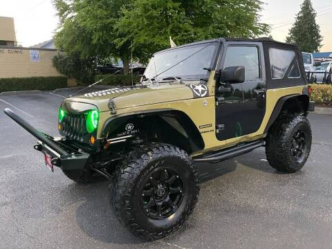 2013 Jeep Wrangler for sale at Real Deal Cars in Everett WA