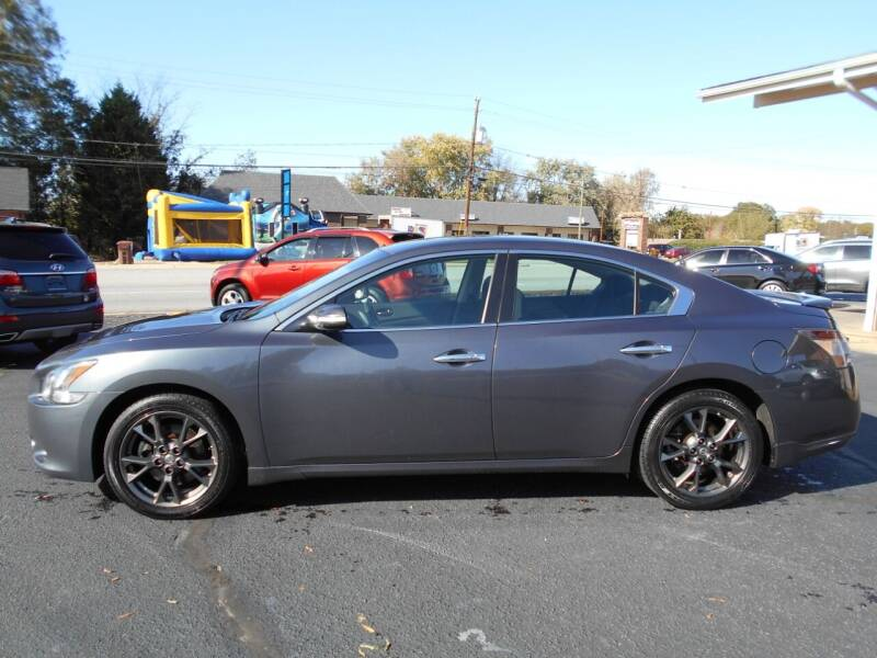 2012 Nissan Maxima for sale at W&W Dixie Motors Inc in Hickory NC