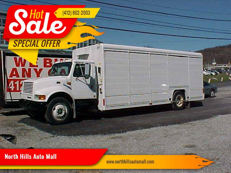 1998 International 4900 for sale at North Hills Auto Mall in Pittsburgh PA