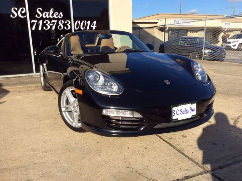 2011 Porsche Boxster for sale at SC SALES INC in Houston TX