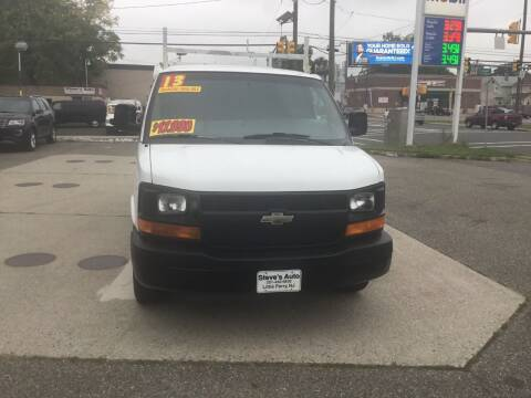 2013 Chevrolet Express Cargo for sale at Steves Auto Sales in Little Ferry NJ