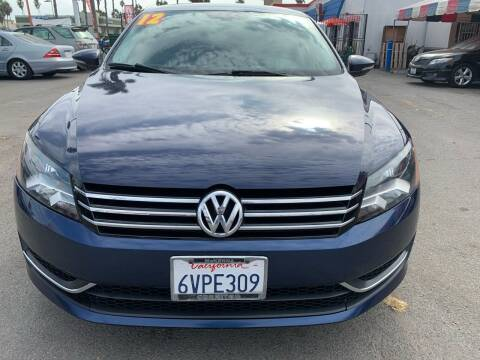 2012 Volkswagen Passat for sale at North County Auto in Oceanside CA