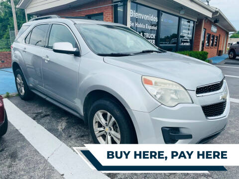 2010 Chevrolet Equinox for sale at Guidance Auto Sales LLC in Columbia TN