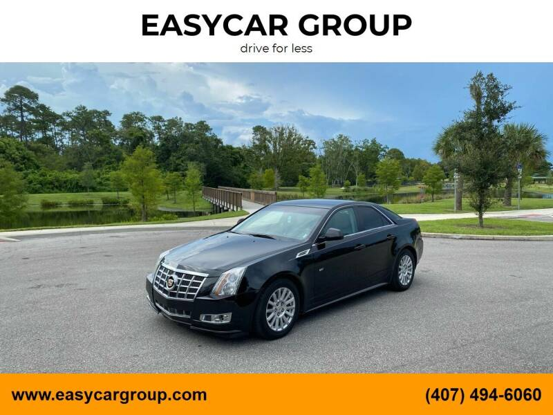 2010 Cadillac CTS for sale at EASYCAR GROUP in Orlando FL