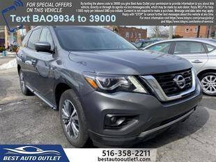 2019 Nissan Pathfinder for sale at Best Auto Outlet in Floral Park NY