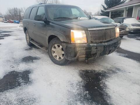 2002 Cadillac Escalade for sale at Geareys Auto Sales of Sioux Falls, LLC in Sioux Falls SD