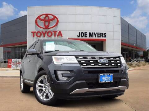 2017 Ford Explorer for sale at Joe Myers Toyota PreOwned in Houston TX