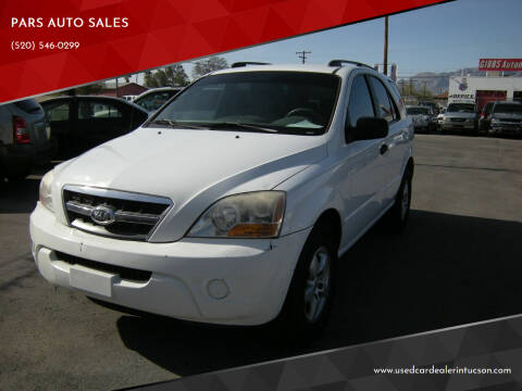 2009 Kia Sorento for sale at PARS AUTO SALES in Tucson AZ