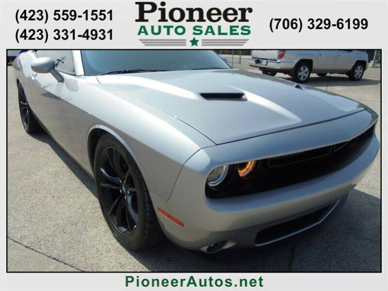 2018 Dodge Challenger for sale at PIONEER AUTO SALES LLC in Cleveland TN