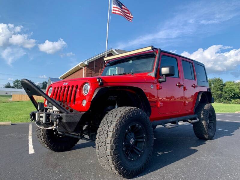 2015 Jeep Wrangler Unlimited for sale at HillView Motors in Shepherdsville KY