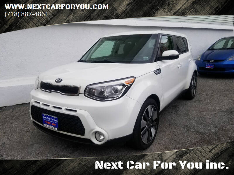 2014 Kia Soul for sale at Next Car For You inc. in Brooklyn NY