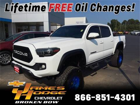 2018 Toyota Tacoma for sale at James Hodge Chevrolet of Broken Bow in Broken Bow OK