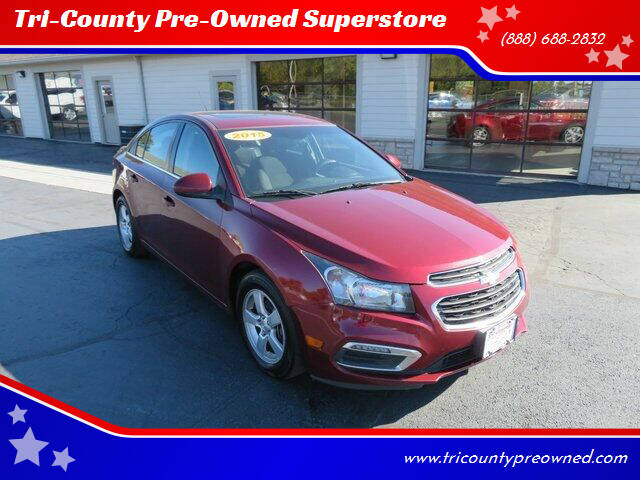 2015 Chevrolet Cruze for sale at Tri-County Pre-Owned Superstore in Reynoldsburg OH